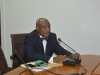 Special Assistant to the President on Prosecution, Chief Okoi Obono-Obla, speaking during the presentation