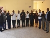 ICPC Chairman, Mr. Ekpo Nta and some management staff in a group photograph with members of the Akin Fadeyi Foundation (Corruption, Not In My Country!)