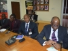 A cross-section of some management staff of ICPC during the courtesy visit