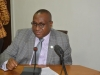 Secretary to the Commission, Dr. Elvis Oglafa who represented ICPC Chairman, speaking during the visit