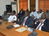 A cross-section of management staff of ICPC during the courtesy visit
