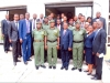 A GROUP PHOTOGRAPH OF THE GOC AND HIS ENTOURAGE WITH THE HEAD AND STAFF OF ICPC OYO OFFICE