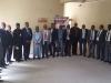 Hon. Member Bako Abdullahi and other management staff in a group photograph with members the delegation from the ICAN