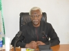 ICPC Chairman, Mr. Ekpo Nta speaking during the courtesy visit