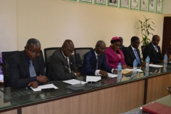 A cross section of ICPC and NSC officials during the courtesy visit