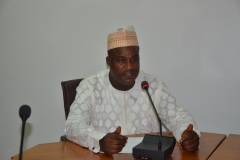 Dr. Musa Usman Abubakar takes over at ICPC