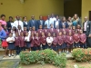A group photograph of the students and ICPC staff of Education Department