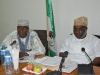 (L-R) Vice Chairman, House Committee on Anti-Corruption, Hon. Amiruddin Idris Tukur and Committe Chairman, Hon. Babajide Akinloye during the visit