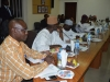 A cross-section of members of the House Committee on Anti-Corruption during the visit