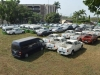 A cross-section of the 95 seized Federal Government vehicles inspected by the members of the House Committe on Anti-Corruption