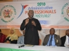ICPC Chairman, Ekpo Nta, making his remarks at the event