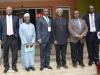 (L-R) Abbia Udofia; Bako Abdullahi, Board Member, ICPC; Dr. Godswill C. Onyekwere, ICAD Abuja; ICPC Chairman, Ekpo Nta; Mr. Elvis Oglafa, Commission's Secretary; Adedayo Kayode