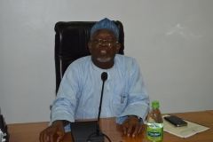 ICPC Acting Chairman, Alhaji Bako Abdullahi, speaking during the handover ceremony