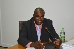 Secretary to the Commission, Dr. Musa Usman Abubakar, speaking during the handover ceremony