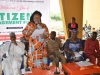 Mrs. Juliana Or, representing the Special Adviser to the Governor on LG and Chieftaincy Affairs speaking at the forum