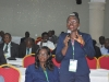 Head, Special Investigation Team, Mrs. Grace Agha-Ibe, speaking during the interactive session