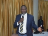 Zonal Commissioner, ICPC Akwa Ibom Office, Mr. Henry Emore, speaking during the interactive session