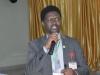 Mr. Ebenezer Shogunle of the Prosecution Department making a presentation during the retreat