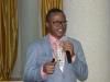 Head, Financial Investigation Unit, Mr. Michael Agboro, making his presentation during the retreat