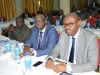 (L-R) Head, Administration Department, Mr. Gad Bako, Head, Investigation Department, Mr. Kayode Adedayo and Head, Chairman's Special Unit, Mr. Abbia Udofia at the retreat