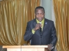 Mr. Edet Ufot of the Public Enlightenment Department making his presentation during the summit