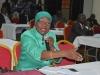 ICPC Spokesperson and Head, Public Enlightenment Department, Mrs. Rasheedat Okoduwa mni, speaking during the interactive session