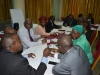 ICPC management staff in a syndicate session during the retreat