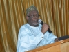Hon. Bako Abdullahi, ICPC Board member delivering the vote of thanks