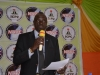 NAVC Coordinator, Mr. Mike Sowe speaking during the inauguration in Abia State