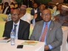 Secretary to the Commission, Elvis Oglafa (R) with Bala Mohammed the HOD, Planning Research and Review, ICPC