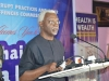 ICPC Chairman, Mr. Ekpo Nta giving his speech during the media parley