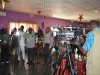 A cross-section of press men present at the media parley