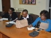 Cross-section of members of the delegation from PTAD