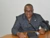 Mr. Elvis Oglafa, Secretary to the Commission representing ICPC Chairman Mr. Ekpo Nta during the visit