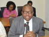 Mr. Godson Ukpero representing the DG and Exec. Secertary of the Pension Transitional Arrangement Directorate (PTAD)