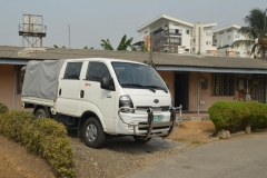 The vehicle donated by the British High Commission to ICPC Zonal Office, Lagos