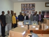 Group Photograph after the presentation of the GO-CIS and e- library equipment