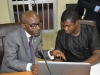 L-R: Mr. Demola Bakare of ICPC and Dr. Femi Ladapo from UNODC