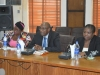 A cross-section of management staff of ICPC during the presentation of the report