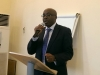 Prof. Sola Akinrinade, Provost, Anti-Corruption Academy of Nigeria (ACAN), briefing participants at the programme.