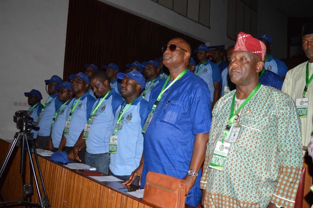 Cross section of participants from NIPSS at the event
