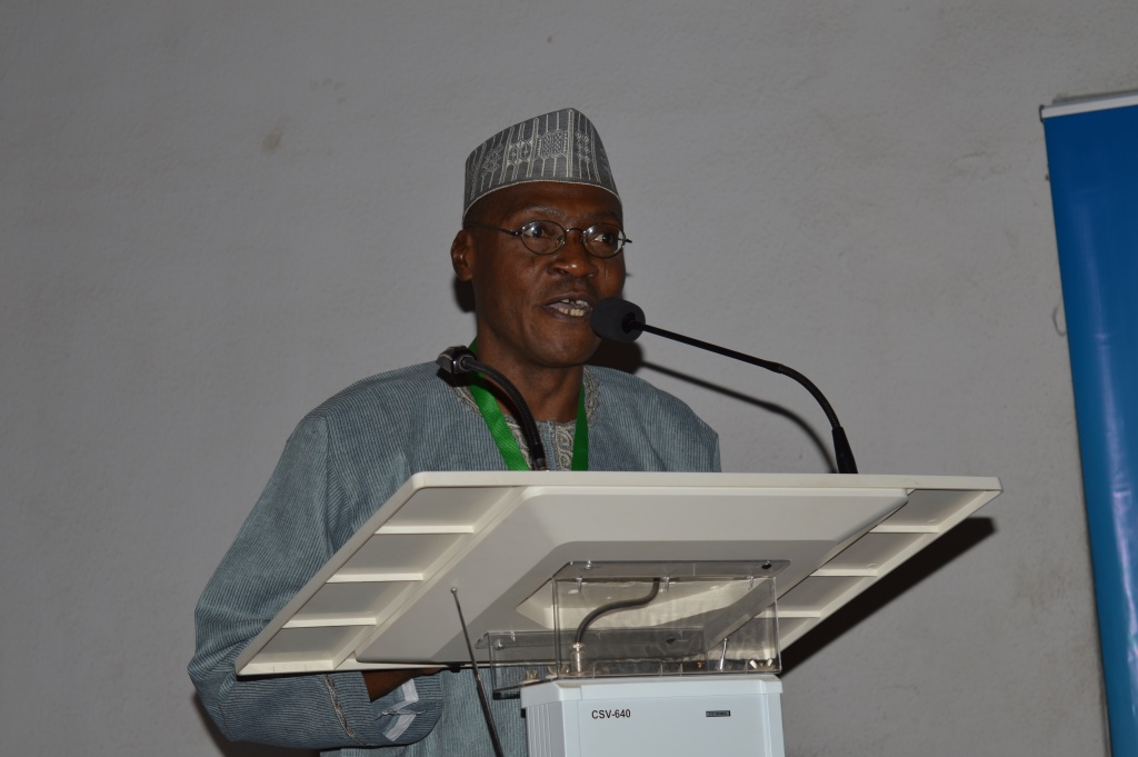 Asipita Umar, Head of NIPSS Consult, speaking on behalf of the delegation