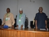 Prof. Ifeanyi Williams, Head of delegation NIPSS, Asipita Umar, Head of NIPSS Consult and ICPC Chairman, Mr. Ekpo Nta