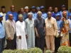 Members of the delegation in a group photograph with ICPC Chairman, Mr. Ekpo Nta, Alh Bako Abdullahi, Board Member ICPC, and Elvis Oglafa, Secretary to the Commission