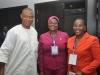 6. (L-R) Alberto C. Agedah, ACTU Chairman, Budget Office, Rasheedat Okoduwa, mni and Azuka Ogugua of ICPC