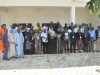 Cross section of participants at the end of the workshop