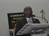 Representative of EFCC Chairman, Mr Osita Uwajaren delivering a goodwill message