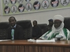 President of Berekete Family Ahmed Isa with representative of Emir of Suleja Zazzau Arc Muhammad Adamu Abuja
