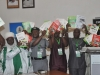 ICPC Chairman and other dignatories displaying the new operational guidelines/training manuals of the NAVC