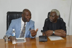 Visit of Senate Committee on Anti-Corruption and Financial Crimes to ICPC